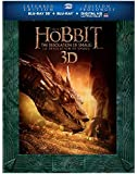 The Hobbit: The Desolation of Smaug Extended Edition (Bilingual) [Blu-ray 3D + Blu-ray + UltraViolet]