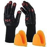 ISUDA BBQ Grill Gloves- 14