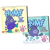 Humf Collection Touchy Feely 2 Board Books Set Andrew Brenner Pack RRP: �13.98 (Humf and the Big Boots (Touch & Feel), Fun in the Bubbles (Touch & Feel))by Andrew Brenner