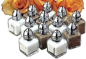 Mini Salt & Pepper Shakers Set/12 by WalterDrake