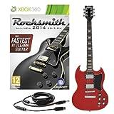 Rocksmith 2014 Xbox 360 + Chitarra Elettrica Brooklyn Rossa