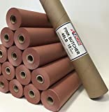 "Pink/Peach Butcher Paper Roll 18"" X 150' in Durable Carry Tube"