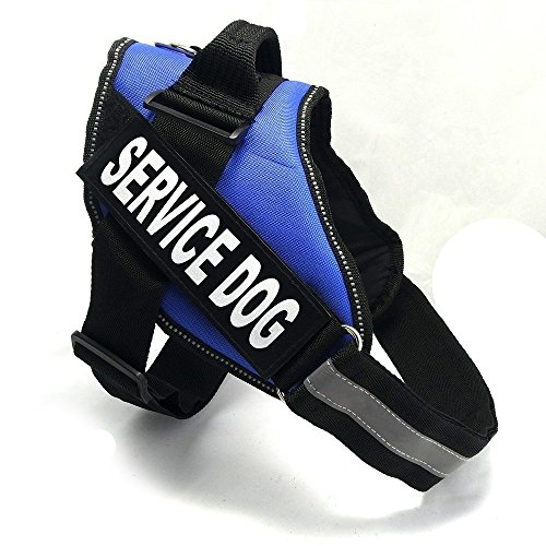 fairwin-service-dog-vest-harness-k9-no-pull-adjustable-with-reflective-service-dog-patches-l-fits-gi