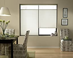Top Down Bottom Up Shades, Cordless Cellular Window Blinds, White (35Wx60L)