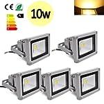 Hengda® 5 Stück 10W SMD LED Strahler...