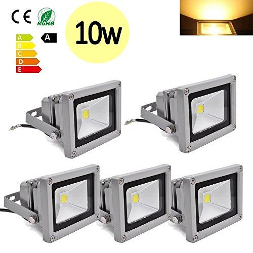 Hengda-5-Stck-10W-SMD-LED-Strahler-Fluter-IP65-Flutlicht-Leuchtmittel-Scheinwerfer-Warmwei-Wandstrahler-Auenstahler-Leuchtmittel-85-260V-AC