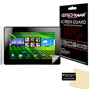 **PACK OF 3** - BLACKBERRY PLAYBOOK Screen Protector with cleaning cloth - 16GB 32GB 64GB