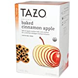 Tazo Teas, Organic Baked Cinnamon Apple, Herbal Tea, Caffeine-Free, 20 Filterbags, 1.76 oz (50 g)