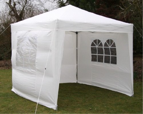 airwave pop up pavillon 2 5 x 2 5 m bianco. Black Bedroom Furniture Sets. Home Design Ideas
