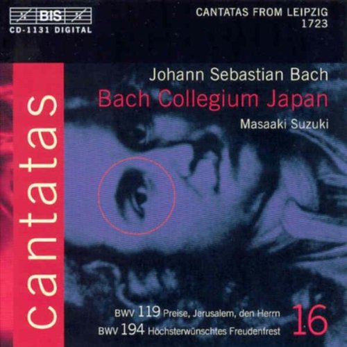 Cantates Vol. 16 : Cantates Bwv119 Et Bwv194