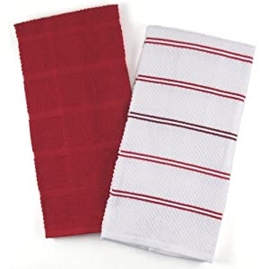 Http Www Amazon Com Classic White Cotton Kitchen Towel Dp B003dktrr6