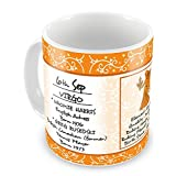 Everyday Gifts Happy Birthday 6th Sep Zodiac Mug
