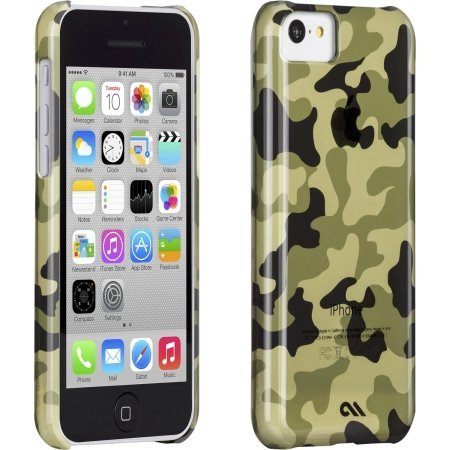 Case-Mate Barely There Case for Apple iPhone 5c Urban Camo Green