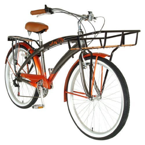 Hollandia Land Cruiser M Bicycle (Pewter / Copper, 26-Inch)