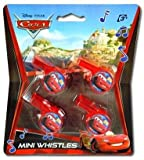 Disney Cars 4Pk Mini Toy Whistle (24 Pack)