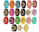 ELENKER™ Wholesale 3 Assorted Platinum Unisex Watch