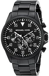Michael Kors Men's MK8414 Gage Black Stainless Steel Watch