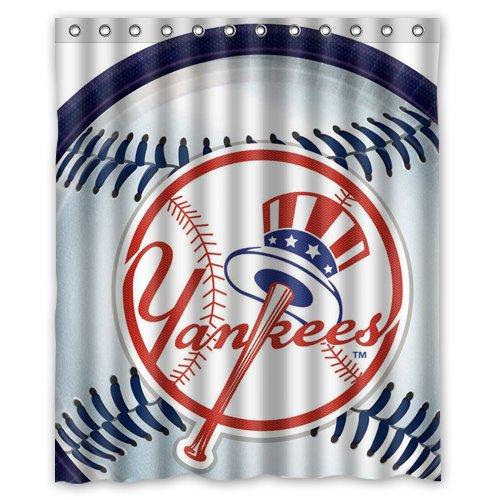 New York Yankees Shower Curtain, Yankees Shower Curtain ...