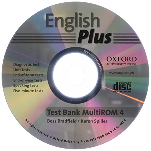 English Plus: 4: Test Bank MultiROM: An English secondary course for students aged 12-16 years.
