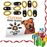 Our K9 Dog Clicker Training Kit - Includes 6 Training Clickers and a Clicker Training Book - The Clicker Book teaches you the Clicker Basics. Become a Clicker Dog Trainer in Just a few short Hours.