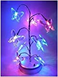 Vktech Mini Colorized LED Butterfly Tree Light Lamp Home Desk Festival Decoration