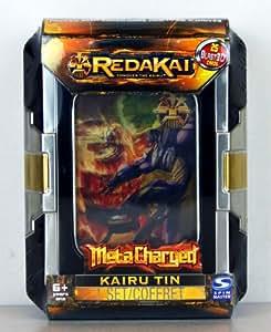 RedaKai - Conquer the Kairu - MetaCharged Kairu Tin - 1 Set - 25 Explosion Cartes 3D - Langue : Anglais - 49745