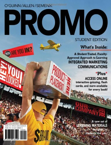 PROMO (with Marketing CourseMate with eBook Printed...
