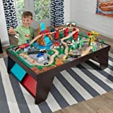 Awesome, Fun, Interactive Waterfall Station Train Set & Table