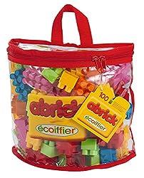 Ecoiffier Abrick 100 Pc Half Moon Bag, Multi Color