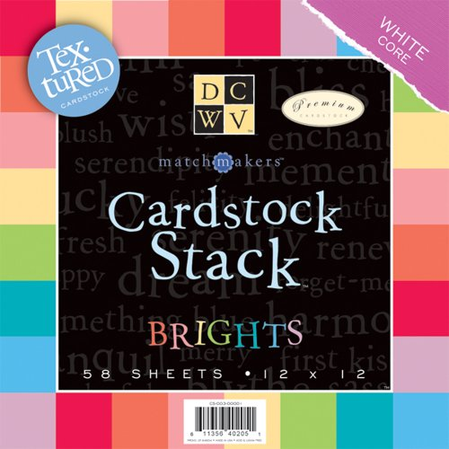 Diecuts with a View Match Makers 12 Inch by 12 Inch Cardstock Stack