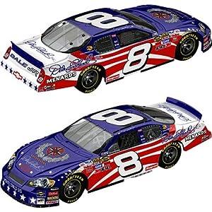 Amazon.com: #8 Dale Earnhardt Jr Stars & Stripes 1/64 HO Diecast Car