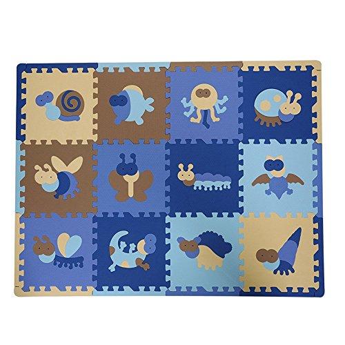 tianmei 30 30 1 3 cm tiere weichschaum eva boden matte jigsaw puzzle matten f r kinder. Black Bedroom Furniture Sets. Home Design Ideas