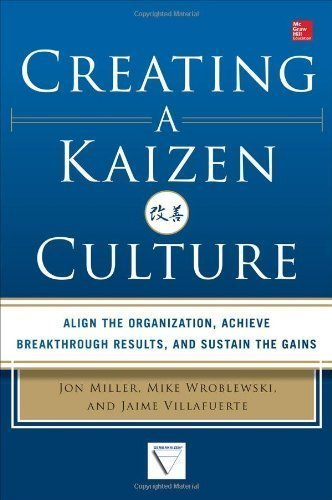 Creating a Kaizen Culture: Align the Organization, Achieve Breakthrough Results, and Sustain the Gains by Miller, Jon, Wroblewski, Mike, Villafuerte, Jaime (2013) Hardcover PDF