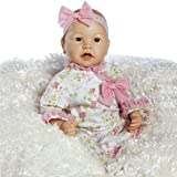Baby Doll That Looks Real, Baby Layla, 21 inch Flex-Touch Vinyl, with Weighted Body