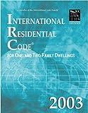 International Residential Code 2003: Looseleaf Version (International Code Council Series)