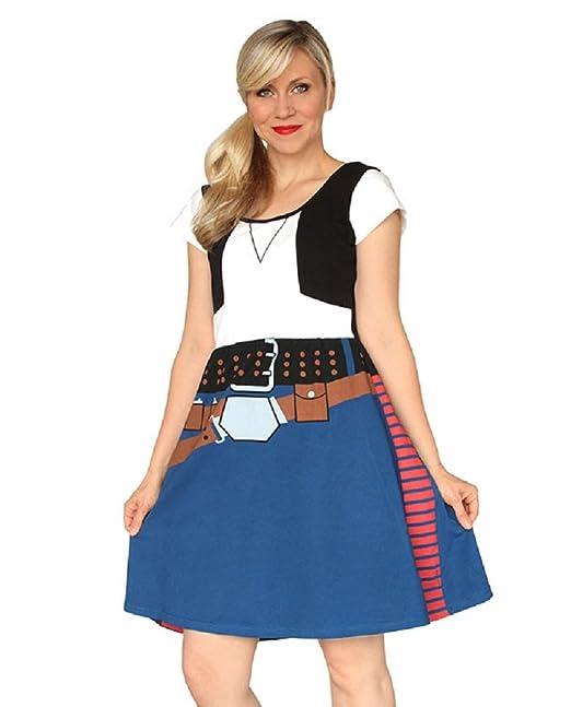 han solo costume for women