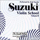 Suzuki Violin School, Vol. 8 (Suzuki Method Core Materials)