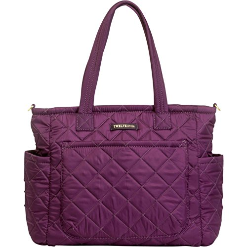 TWELVElittle Carry Love Tote (Plum) - 1