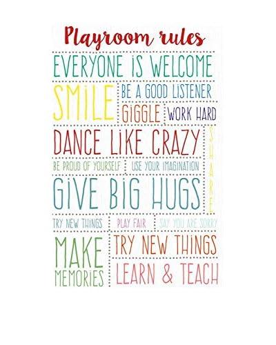 Little Nice Things Lienzo Playroom Rules