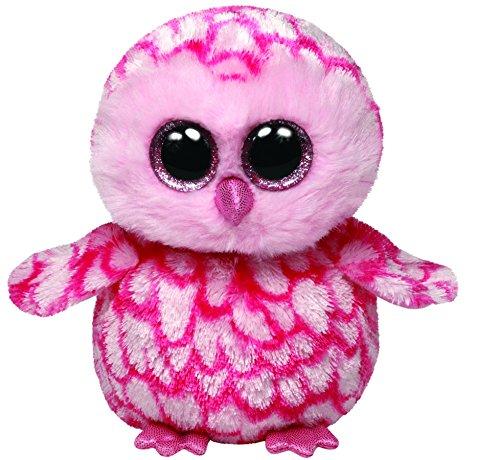 Ty Beanie Boos Pinky Pink Barn Owl Plush - 1