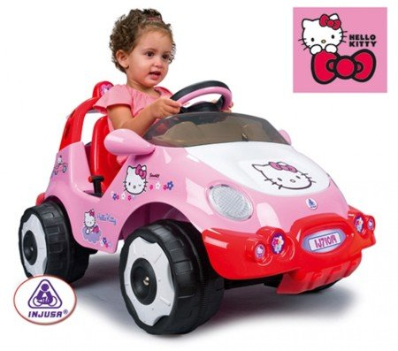 Imagen principal de INJUSA 71014 - Racing Car Hello Kitty 6V