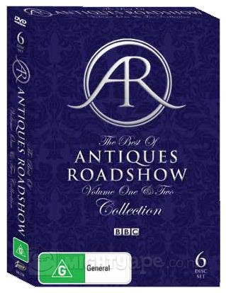 The Best Of Antiques Roadshow ~ Vol 1&2 Collection (6 DVD SET) (ALL REGIONS) (PAL)