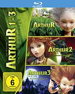 Arthur und d.Minimoys 1-3 Bd [Blu-ray] [Import allemand]