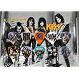 Kiss Gene Simmons 10 Guitar Picks Set Display