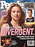 img - for People Magazine - DIVERGENT Movie Collectors Edition - March 2014 book / textbook / text book