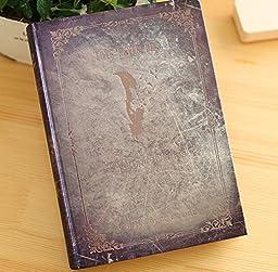 Vampire Diaries Vintage Diary Planner Journal Book Agenda Notebook Notepad (Gray)