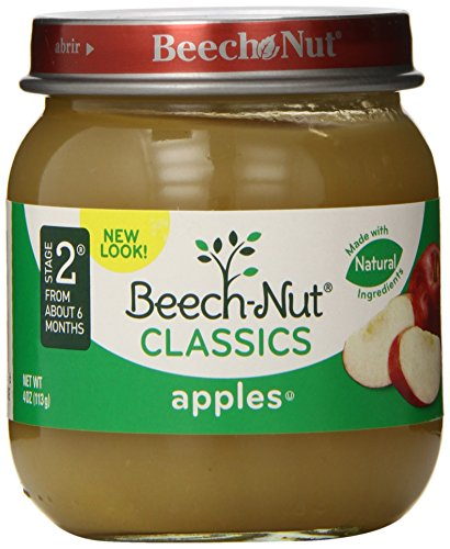 Beech-Nut Classics, Apples, 4 Ounce (Pack of 10) - 1