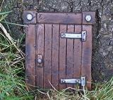 Hobbit Tür (Magisches Tor) Ideal für Garten und Bäume -...
