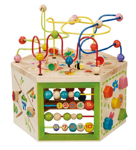 Everearth Garden Activity Cube Baby Shop