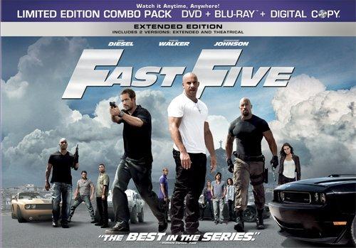 FAST FIVE(DVD+BD+DC/SBS)